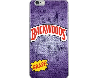 Backwoods Grape iPhone Case