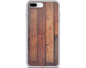 iPhone Cases, iPhone X Case, iPhone 6/6S, iPhone 7/7+ Cases ,Case iPhone 8/8+ Case, Wooden plank print