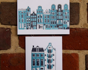 Amsterdam Greeting Cards (2 pack)
