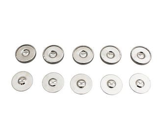 Magnetic Buttons/Fasteners, Pack of 5 Sewable Electronics e-textiles E Texiles Buttons Pack 5