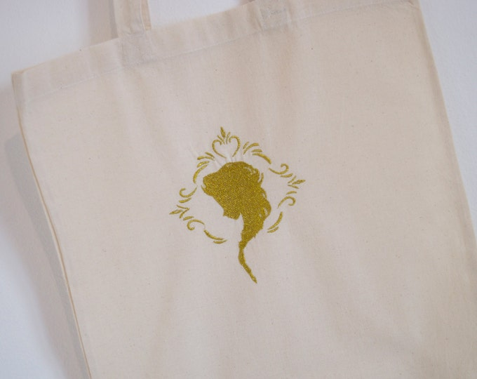 Tote Bag gold snow Queen
