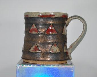 Gold Triangles Mug