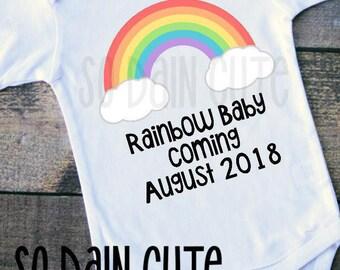 RAINBOW BABY, infertility, ivf, iui, baby announcement
