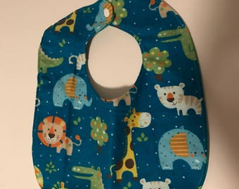 Child's bib, kid's bib, waterproof bib, clothes protector, special needs bib