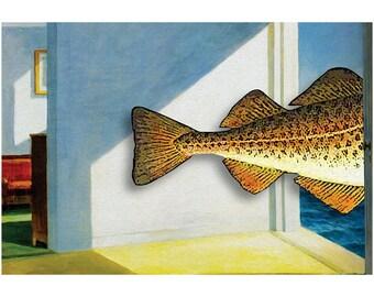 Cod by the Sea (frameable art cod)