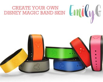 Create Your Own Disney Magic Band Decal 1.0| Personalized Disney Magic Band Skin | Custom Magic Band Decals | Design Your Own Magic Band