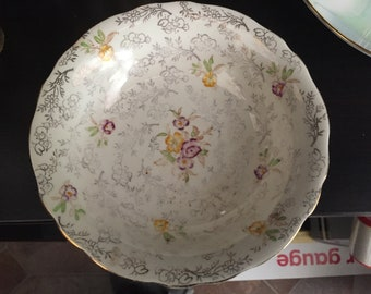 """James Kent """"Pearl Delight"""" 2996 Chintz Nut/Candy bowl"""