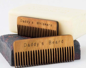 Comb for Daddy's Beard - New Dad Announcement - Gift for Dad - Gift for him - Natural Beard Care