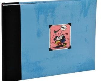 Disney Mickey blue 60 pages scrapbooking photo album