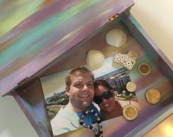 Pastel Wooden Travel Box