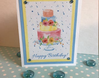 Printable Birthday Greeting Card Kit - Get the Look of a Handmade Card Without All the Work
