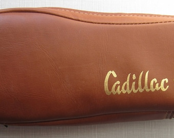 Vintage Cadillac Travel Slippers circa the 60's