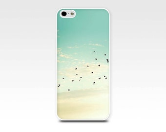 birds iphone 6 case birds in flight iphone case 5s sunset iphone case 4s bird flying iphone case 4s flock of birds case fine art iphone case