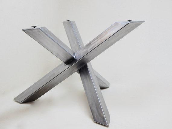Modern Industrial Table Base Steel Table Legs Welded Modern
