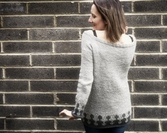 In the Shade Jumper. Pattern only