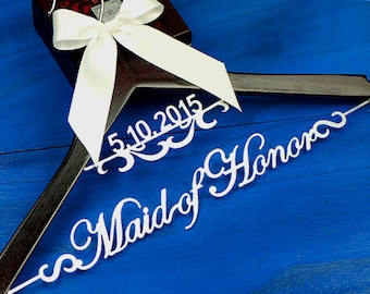 Wedding Gift Ideas | Maid of Honor Gift | Bridesmaid Gift | Bride Hanger | Wedding Hanger | Jr Bridesmaid Dress Hanger | Bridal Shower Gifts