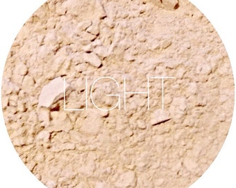 Light Mineral Foundation • Mineral Makeup • Natural Makeup • Gluten-Free Makeup • Earth Mineral Cosmetics