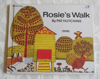 Rosie's Walk By Pat Hutchins Aladdin Books 1986