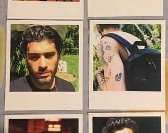 Zayn Malik Polaroids set of 10