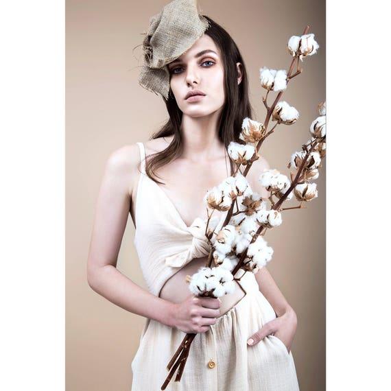 dress dress dress dress soft Aline button with linen bow boho dress dress comfort pockets dress dress beige dress dress beach Aqgxzz