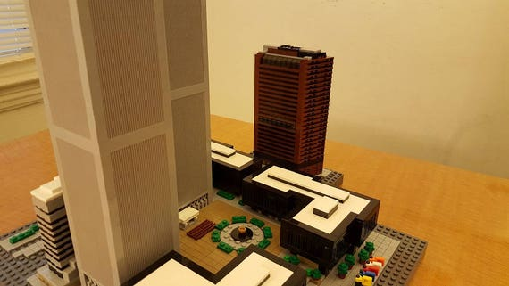 Instructions for Lego World Trade Center Twin Towers