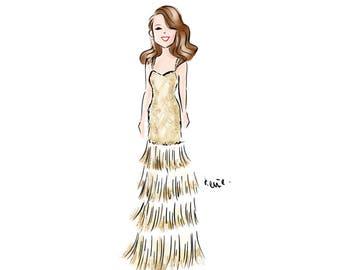 Custom Portrait // Fashion Illustration // Custom Illustration // Cartoon Drawing (Digital)