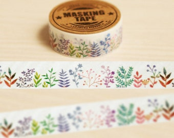 Diary Scrapbook Adhesive Masking Deco Washi Tape - Color Little Grass (1.5 cm Width)