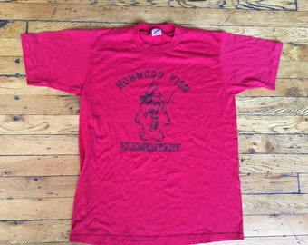 Vintage Norwood View Elementary t shirt USA xl