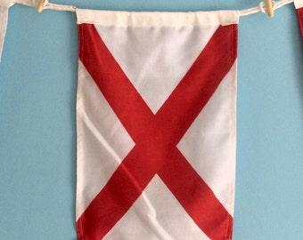 """Nautical Signal Flag - """"V"""""""