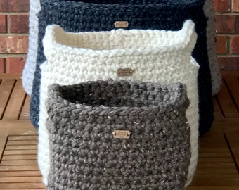 Set of 4 Nesting Baskets