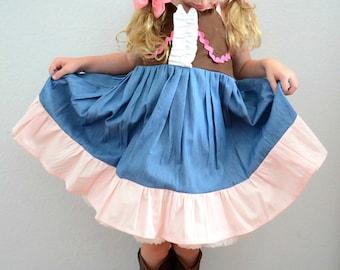 SHERIFF CALLIE Inspired Sweetheart Dress