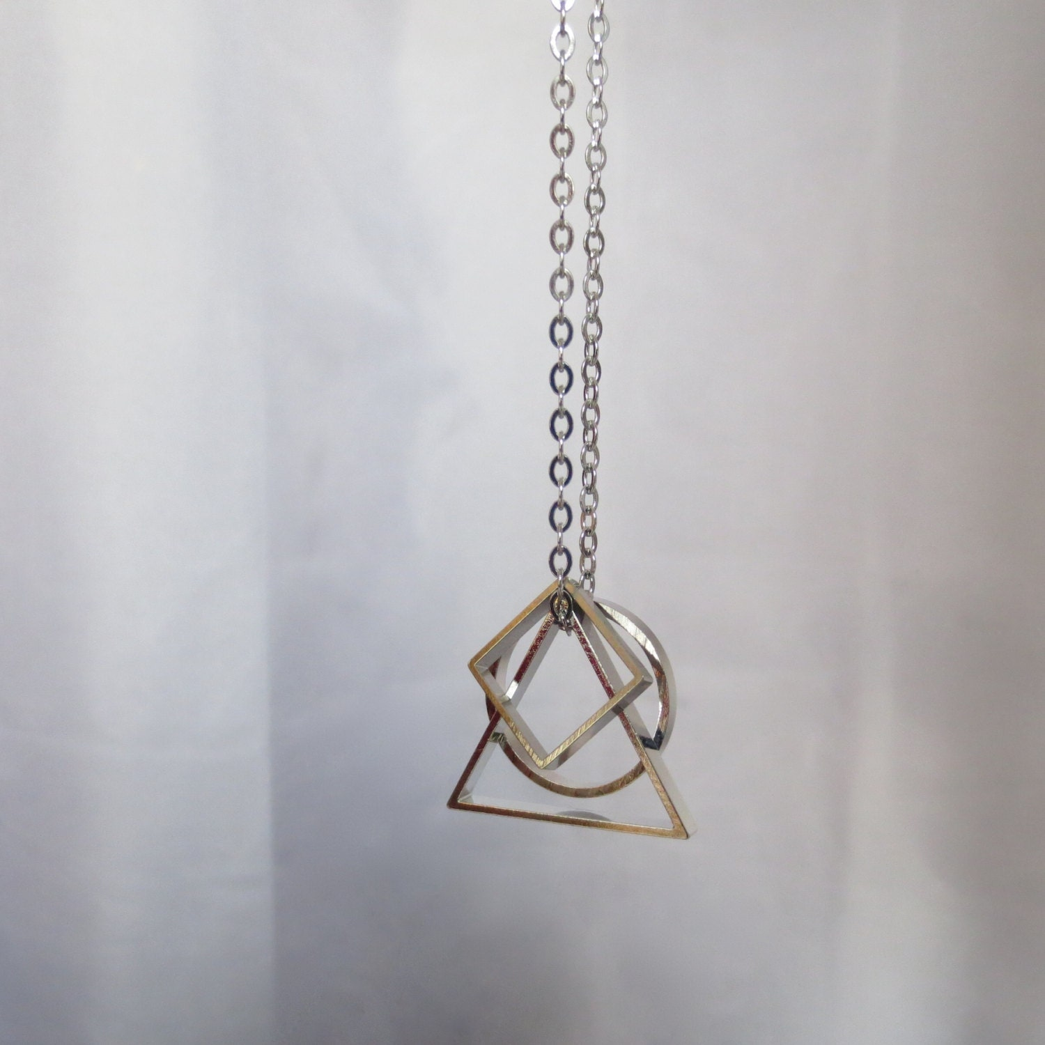 pendant necklace original solid product amaraamara by geometric gold amara with chain