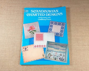 Scandanavian Designs Charted from the archives of the Lindberg Press Pattern Book 1979