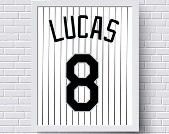 Los angeles dodgers print poster baseball jersey gift for colorado rockies print poster baseball jersey gift for him personalized baby custom baby boy gift nursery print wall art negle Image collections