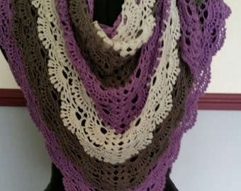 Hand Croheted scarf/shawl