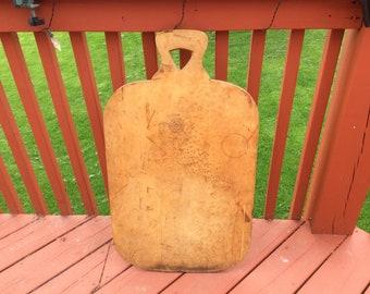 Vintage wood cutting bread board