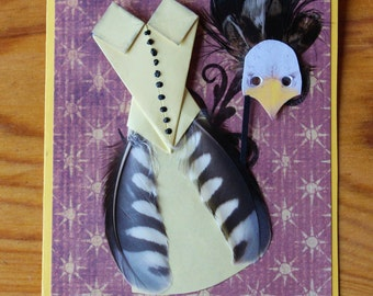 Special Card for a Special Lady in Yellow