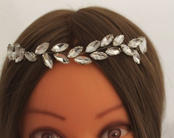 Crystal Hair Vine Bridal Headpiece Crystal  Headpiece  Wedding Hair Accessory Wedding Hair Jewelry bridal hair piece hair vine bridal vine