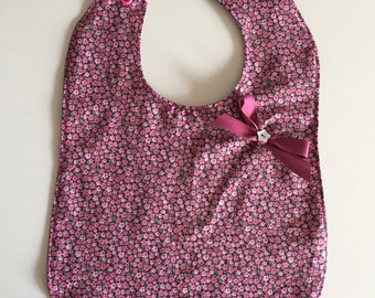 Bib snack reversible cotton
