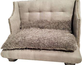 Dog Bed Sofa, Pet Furniture, Dog bed, Cat bed, scandinavian look, modern, Hand-made, linen