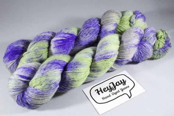 SALE ITEM Hand Dyed Tweed 4ply Yarn Merino - Neopet