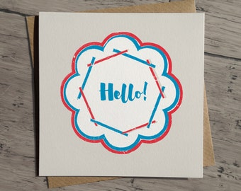 All Purpose Hello Card