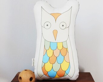 Owl Plush Toy, Stuffed Animal