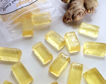 GINGER, Essential Oil Hard Candy,  5oz