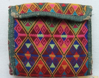 Afghanistan: Vintage Embroidered Pashtun Wallet or Pouch, Item E48
