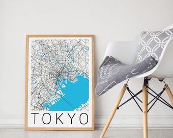 Tokyo Map/Tokyo Print/Tokyo Poster/Tokyo Map Art/Tokyo Map Print/Tokyo Map Poster/Tokyo Art/Tokyo Art Print/Tokyo City Map/Japan Print/Tokyo