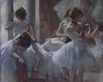 Edgar Degas: Ballet Dancers. Fine Art Print/Poster. (003744)