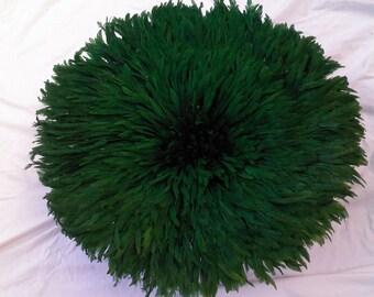 Emerald  Green Juju Hat 31 inches