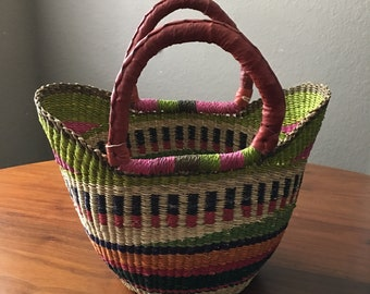 Mini Shopping Tote Bolga Basket