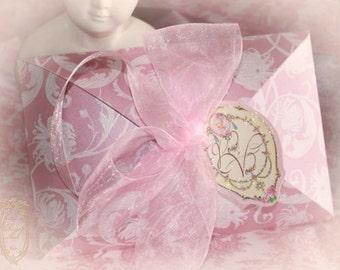 Invitation Boxes, Pink Peony Shimmer, Aqua Paisley Shimmer, Laduree Green Shimmer, Pink Shimmer, Aqua Shimmer